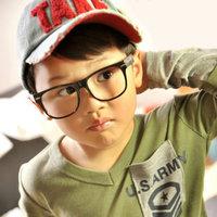 5Pcs/Lot Child glasses frame fashion female child eyeglasses frame lens ultra-light meters myopia glasses