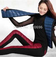 Women's super soft flannel pants down outer wear leggings plus thick velvet warm pants big yards pants free shipping