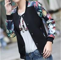 Outerwear female  plus size clothing short design thin outerwear baseball uniform female jacket top