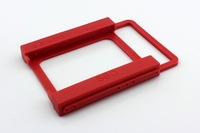 """Mounting Adapter Bracket Dock For PC SSD Holder 2.5"""" SSD TO 3.5"""" HDD Red"""