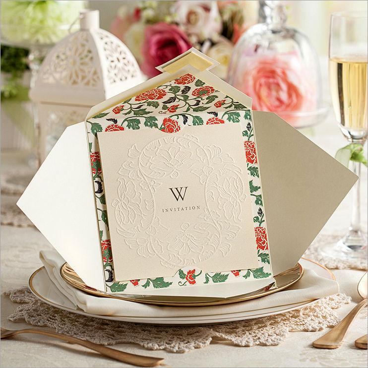 Novo Design personalizado do convite do Laser Cut convites de casamento cartões de favores do casamento grátis frete(China (Mainland))