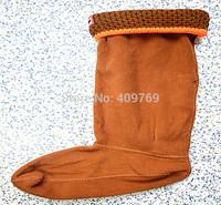 Newest women men socks Long-haired  mesh wool socks winter rain boots matching woman man socks items only socks 35-42