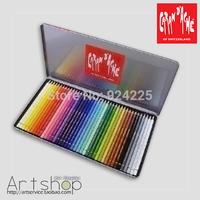 "Hot sales !Hot Spot! Switzerland CARAN D'ACHE Pablo Qatar 's top oil colored pencils "" 40 colors """
