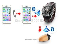 Wireless Bluetooth Watch For Hidden Micro Earpiece