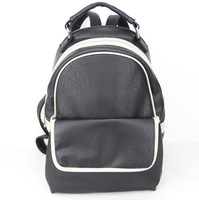 "Hot 2014 sale fashion Backpacks,leisure bag,PU,size:10 x 4 x 16""(L*W*H),12 different colors,packing: 1pcs/opp bag,Free shipping"