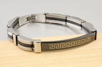 Free Shipping Men's Stainless Steel Bracelets Fashion Long Great Wall Bracelets Chains Top Quality