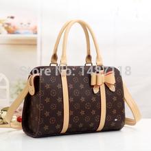 Retail 2014 Fashion Brand designer louis* handbags women High quality genuine Leather Vintage casual-bag Shoulder messenger bags