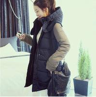 2014 thick wool winter coat women clothes winter jacket female in long down jacket large size winter jackets women parka