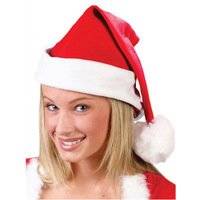 1 pcs Free shipping 2014 new Soft Christmas Hats adult Christmas Cap  Santa hat 27*38cm children cap for Christmas E007