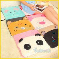 Cute Cartoon Animals Plush Cushion Sofa Car Mats Comfortable Winter thermal Soft Office Chair Butt Pad