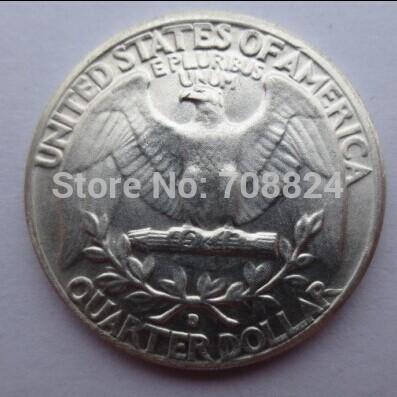 90%silver U.S. Coins 1932-D WASHINGTON QUARTER DOLLARS Retail / Whole Sale Free Shipping(China (Mainland))