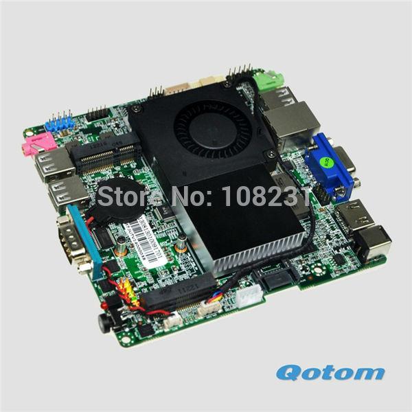 Free shipping thin mini pc motherboard,1037u motherboard,lvds thin client nano itx motherboard 1.8G dual core motherboard(China (Mainland))