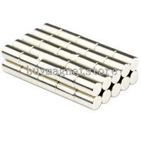 Wholesale ,100pcs N50 Grade Strong Round Cylinder Neodymium Magnets 5 x 8mm Disc Rare Earthndfeb Neodymium  magnets