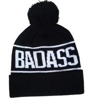 BADASS NEWEST DESIGN WINTER BEANIE HI-HOP USTREET NEW HOT SELLING HAT CAPS