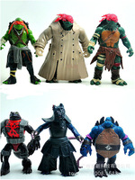 Free shipping DHL 5pcs / lot TNMT teenage mutant ninja turtles toy doll articles Figure Can moved