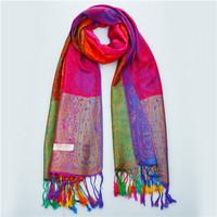 70*175cm 2014 New National Wind Gradient Cashews Women Winter Wrap Shawl Pashmina Tassels Scarves