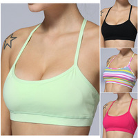 Wholesale Lulu Yoga Bra Discounted Yoga Bra/Sports Bras/Tank Tops For Girls/Women Free Shipping Gym Sportswear Vest