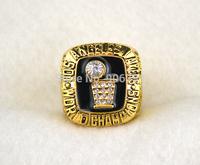 Free shipping fashion  replica 18K gold plated 1985 basketball Championship Ring