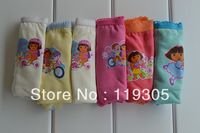 2014 Sale Bragas Children Underwear Wholesale Girl Dora Briefs Colors/bag Sizes Available Free Shipping Pants Kid's Cute Cartoon