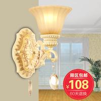 Free shippingTian Yuanqing new European-style wall lamp retro minimalist bedroom bedside lamp aisle corridor wall lights 9003-1W