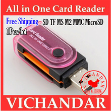 micro sd usb all in one card reader consumer electronics cartao de memoria microsd/tf to sd usb flash u disk adapter multi