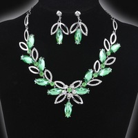 jewely set    !   Rhinestone  Pendants & Necklaces Jewelry set   necklace and earring For Women
