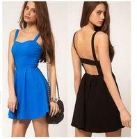 2015 new fashion women sexy chiffon dresses long sleeve v-neck dress loose irregular mini dresses free shipping
