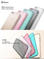 """Fashion Slim Soft TPU Clear Phone Case Back Cover Protective Shell Guard Skin for Apple iPhone 6 4.7"""" iPhone6"""
