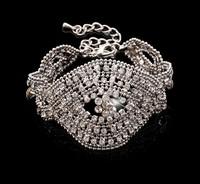 Fashion Full Rhinestone Bracelet