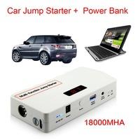 Multi-Function 18000mAh Auto Car Jump Starter Mini Mobile Power Bank Battery Car Charger
