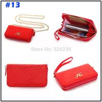 "5pcs Fashion women handbag Universal phone PU Case For iphone 6 4.7"" 5.5"" 5s 5c Samsung S5 I9600 S4 S5 mini , Free shipping"