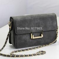 Europe and America desinge  one shoulder bag  cross-body small envelope bags  women's handbag scrub vintage bag