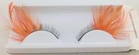 wholesale fashion  eyes corner  false eyelashes for party  False eyelashes Halloween feather eyelashes