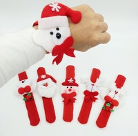 10pcs / lot Christmas bracelet & wristband, christmas toys, children's gifts, Christmas & New Year gifts, christmas decorations