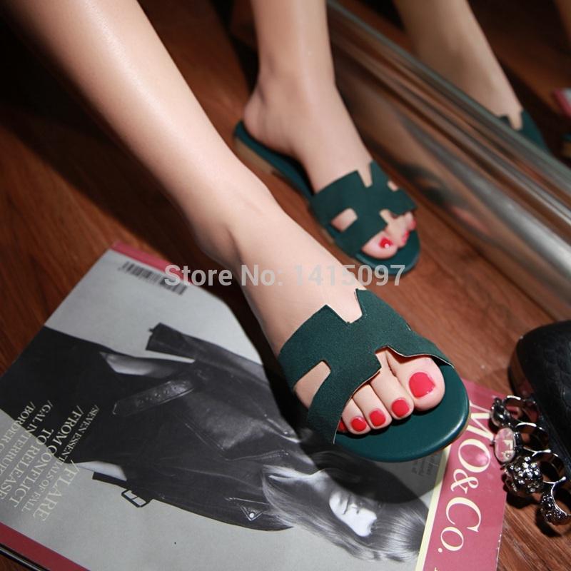 Donne moda estate brand design flip- flop estivi femminile pantofola