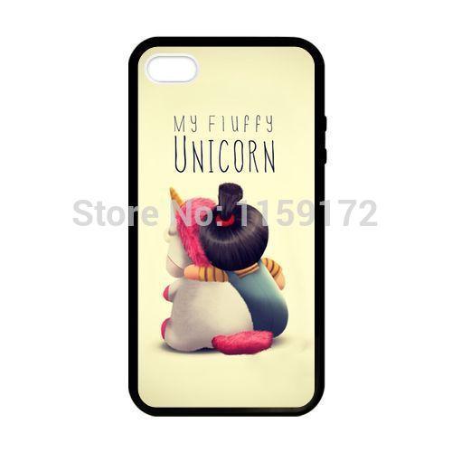 Minion unicu00f3rnio Agnes celular Case capa do telefone para o iPhone 4 ...