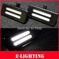 Error Free LED Sunvisor Vanity Mirror Light For BMW E60 E61 E90 E91 E92 Xenon White