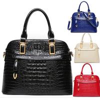 Sale New Genuine Alligator Women Bags Shell Should Bags High Quality Women Handbag Fashion Women Messenger Bags Tote Bolsas B659
