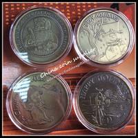 2015 Best Gift Christmas New Coin Set  Interesting Designs Santa/Angel and Santa/snowman 10pcs/lot free shipping