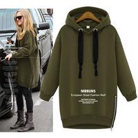 Hot sale 2014 new women  fashion hoodies high quality casual pullovers sweatshirt free shipping