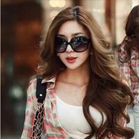 2014 female star sunglasses women's large sunglasses vintage sunglasses anti-uv fashion large frame