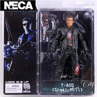 1 piece 18cm/7 inch NECA The Terminator 2 Action Figure T-800/T1000 ENDOSKELETON Figure Toy-A023