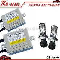 Superior Quality Canbus H4 Bi-xenon HID Xenon Kit AC 12V 35W X3 Ballast H4 Hi/Lo Xenon Lamps Bulbs