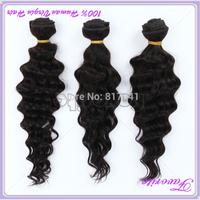 Malaysian Virgin Hair Deep Wave 3Pcs Lot Good Quality Unprocessed Virgin Malaysian Hair Weave Bundles 6A Human Hair