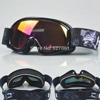 Unisex Children's Wind-proof Ski Goggles Outdoor Sports  Dual-layer Spherical  UV400 Lens Anti-fog Snowboard Eyewears-New