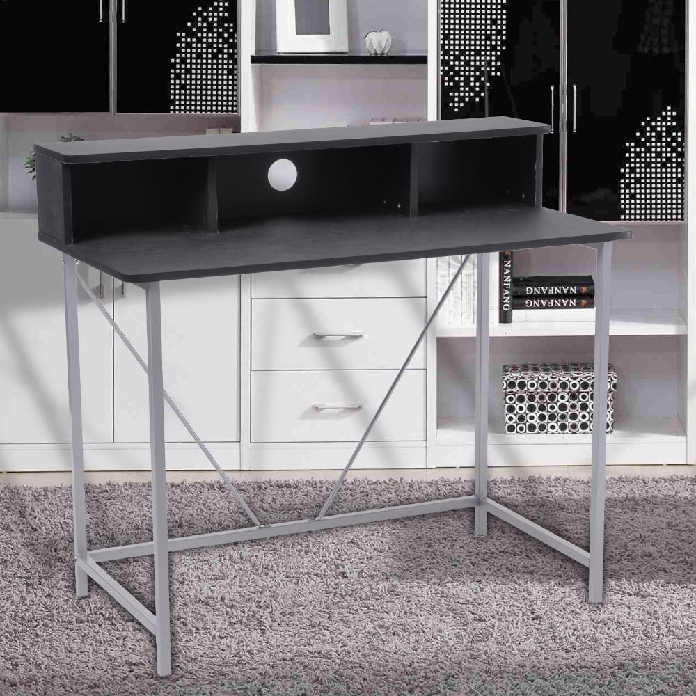 Ergonomic design minimalist home modern wooden table for laptop desktop office computer lap desk furniture( Los Angeles)(China (Mainland))