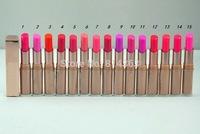 2014 New Hot Brand Makeup Moisture stay lip color LIPSTICK 15 Different Colors Choose(1pcs/lot)