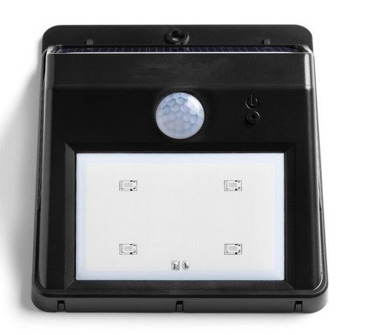 2PCS Mini Solar Power LED Motion Sensor Light Nightlight Dusk to Dawn Dark Sensing Auto On / Off(China (Mainland))