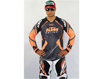 Motocross Racing KTM Jersey Motorcycle Bicycle Mountain Bike Cycling Cross country Riding Jersey Knight T Shirts