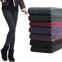 New 2014 Fashion Women Leggings Winter Fashion Legging for Women Autumn Leggins Thick Warm Lady Pants Candy Color 7 Colors